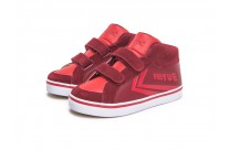 Baskets Delta Mid rouges by Feiyue